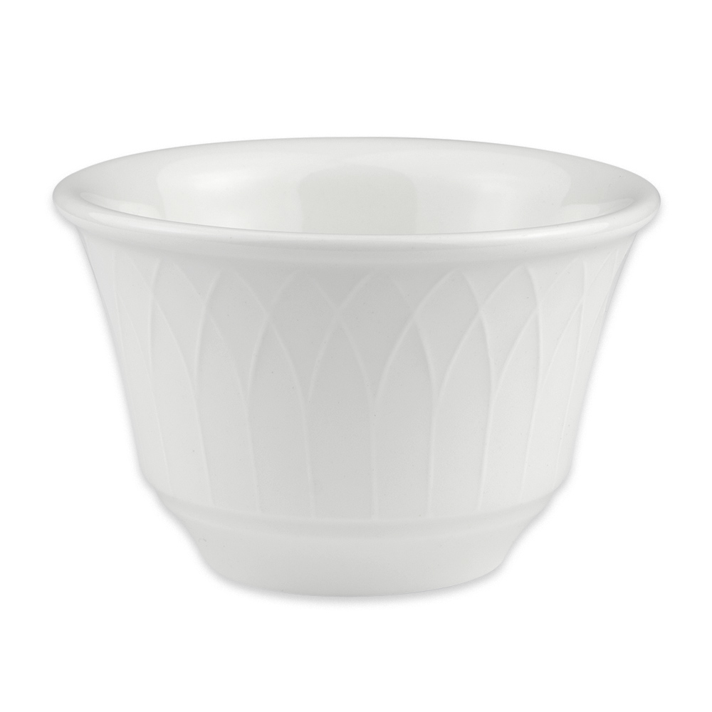 Homer Laughlin 8866900 7 oz Kensington Bouillon Bowl - China, Ameriwhite