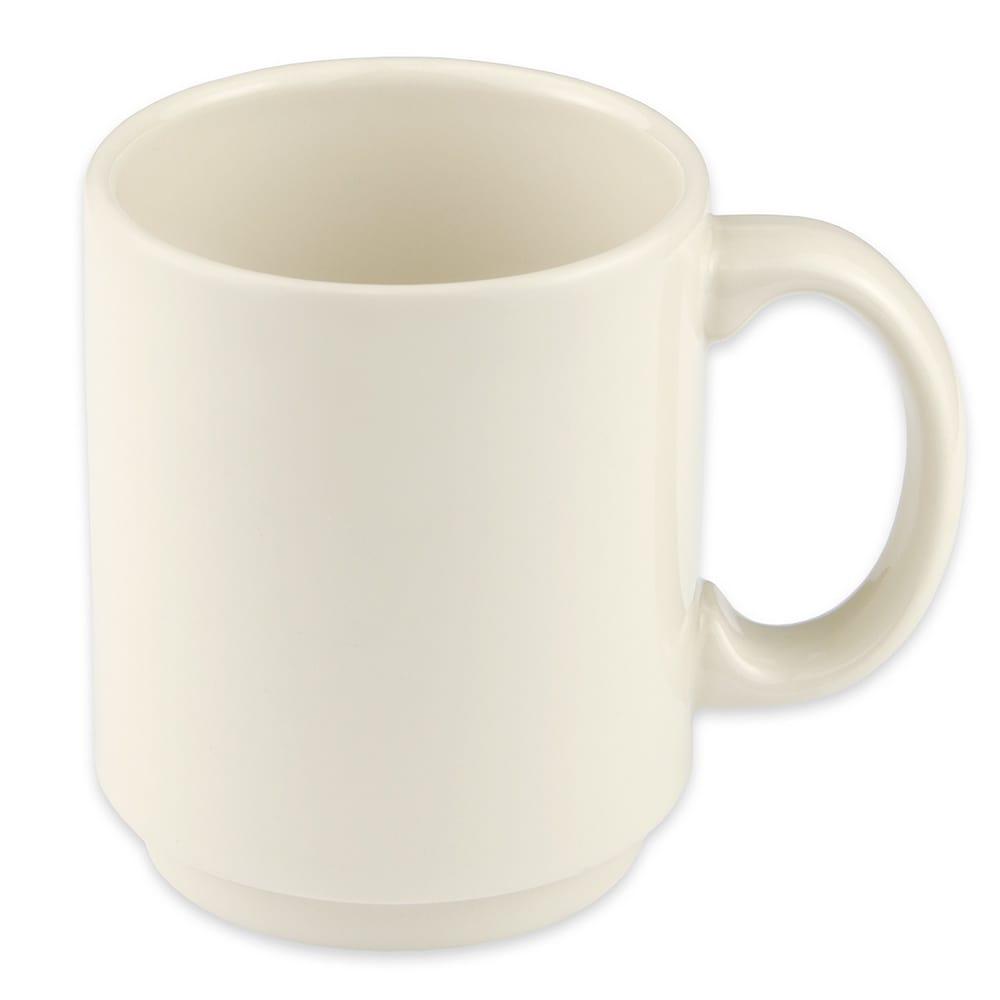 Homer Laughlin 90400 11.5-oz Embassy Mug - China, Ivory