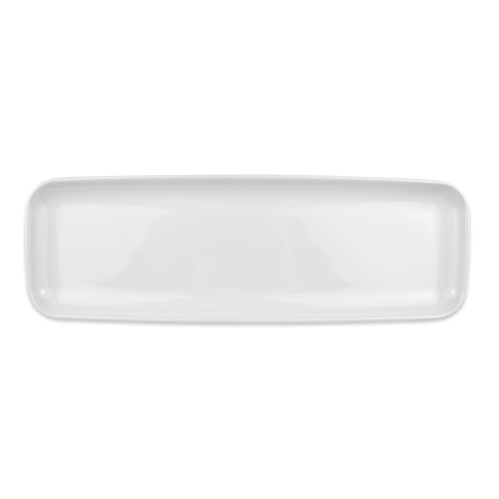 "Homer Laughlin 91410000 Rectangular Platter - 18"" x 6"", China, Arctic White"