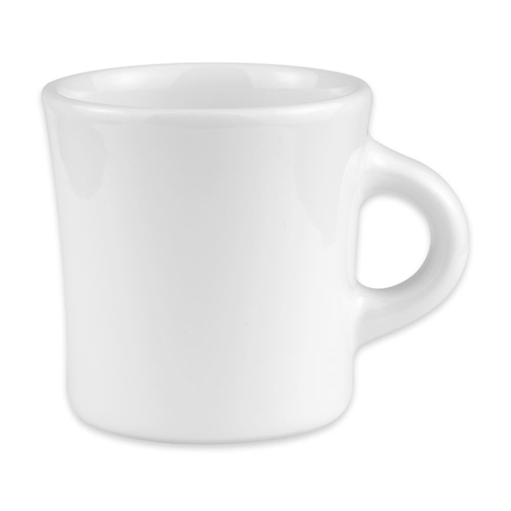 Homer Laughlin 98210000 13-oz Jumbo Mug - China, Arctic White