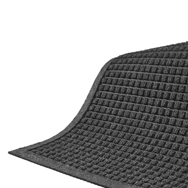Andersen Mats 280-1.5-2.25 154 Waterhog Fashion Entrance Mat, 1.5 x 2.25-ft, Charcoal