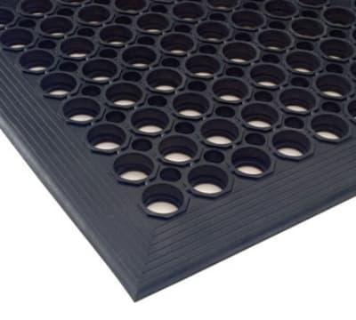 """Andersen Mats 304-3-5 7/8"""" Thick Comfort Mate Slip Resistant Floor Mat, 3 x 5-ft, Red"""