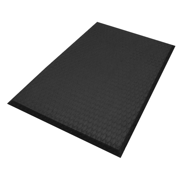 Andersen Mats 414-4-6 Cushion Max Anti-Fatigue Floor Mat, 4 x 6 ft, Black