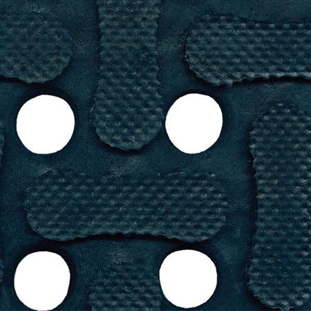 Andersen Mats 420-3-5 Comfort Flow Anti-Fatigue Mat w/ Drainage Holes, 3 x 5 ft, Black