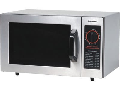 Panasonic NE-1022F 1000w Commercial Microwave with Dial Control, 120v