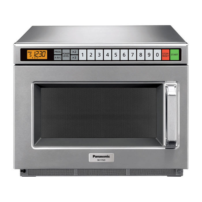 Panasonic NE-12523 1200w Commercial Microwave with Touch Pad, 120v