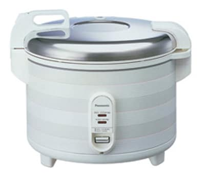 Panasonic SR-2363W Commercial Rice Cooker Warmer w/ 20-Cup Capacity, 70 3-oz Portion Servings