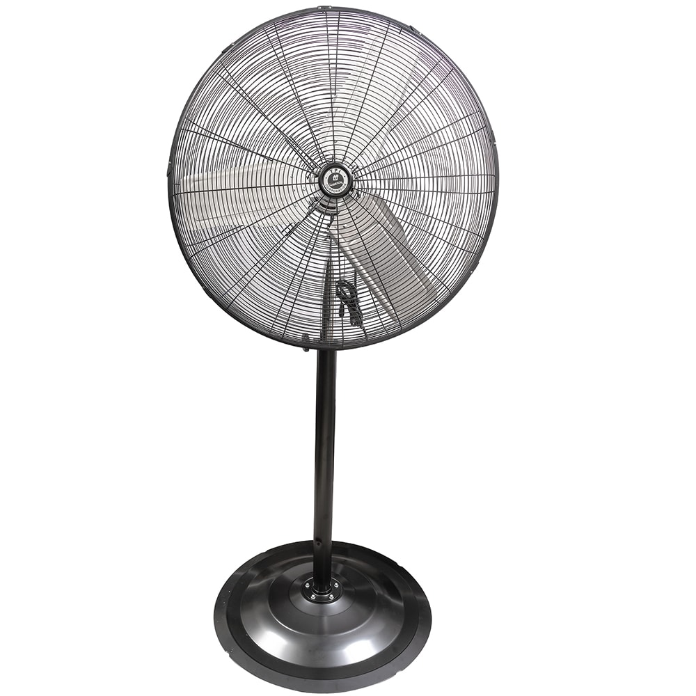 "TPI CACU30P 30"" Pedestal Mount Fan w/ 3-Speed Settings"