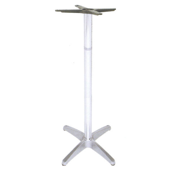 "emu 1357 Max Table Base for 24"" Diameter Tops, Bar Height, Cast Aluminum"