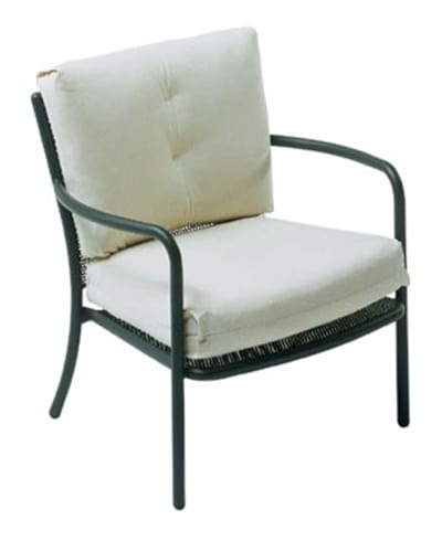 emu 3416 Podio Lounge Armchair, Mesh, Tubular Frame, Bronze