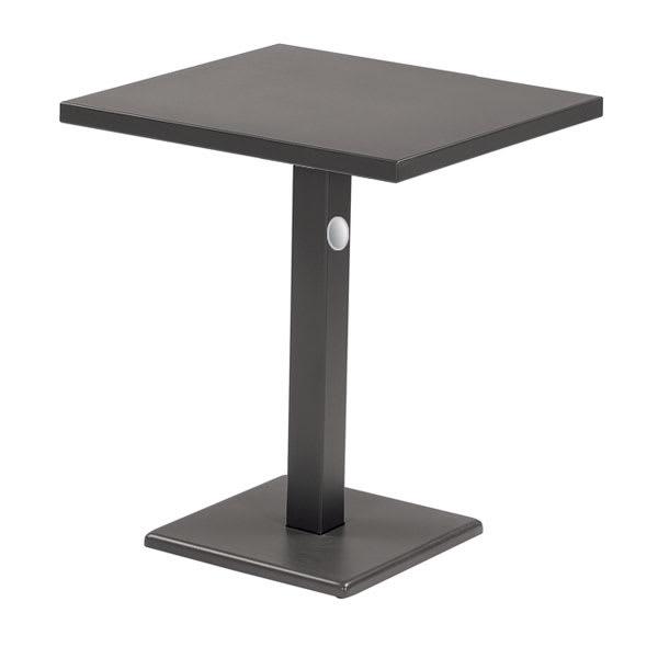 "emu 476K 28"" Rectangular Lock Table w/ Solid Top & Pedestal, Bronze"