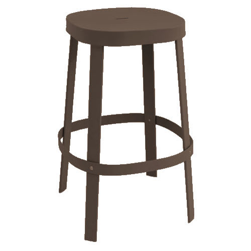 "emu 657 29.5"" Thor Backless Stacking Barstool - Steel, Antique Iron"