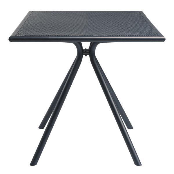"emu 860 Forte Table, 24"" Square, Adjustable, Mesh Top, Iron"
