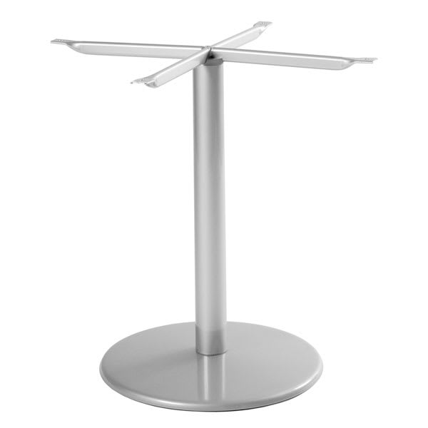 "emu 900BS ALU Bistro Table Base for 24"" Diameter Tops, Dining H, Aluminum"