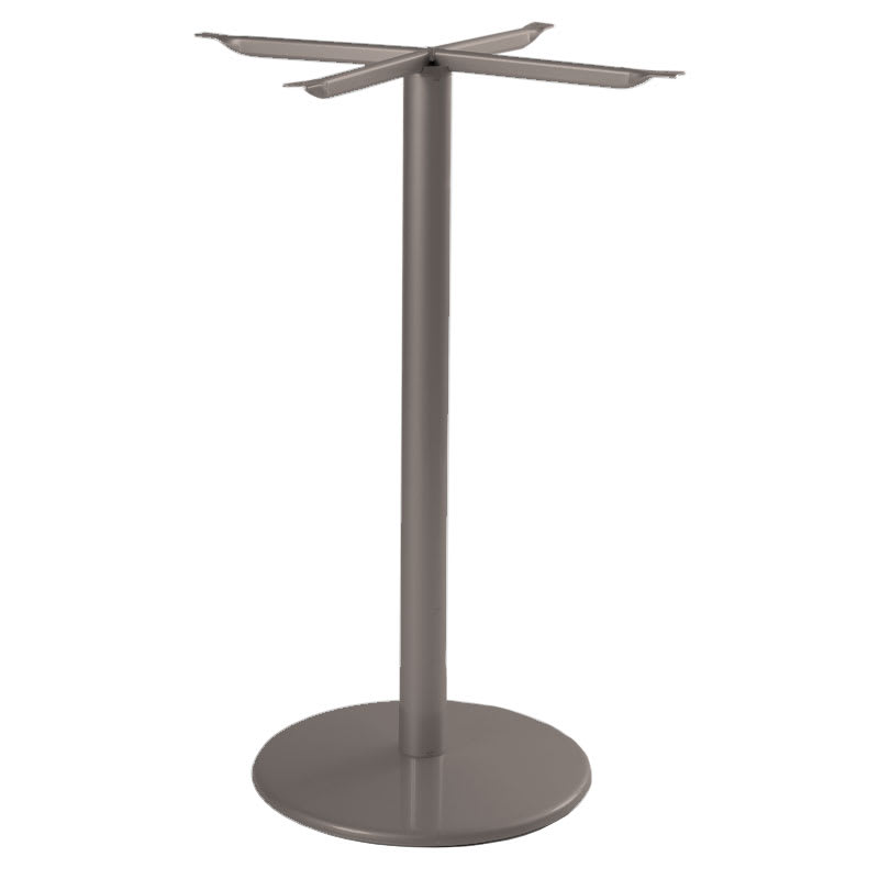 "emu 900HBS Bistro Table Base for 24""D Tops, Bar Height, Bronze"