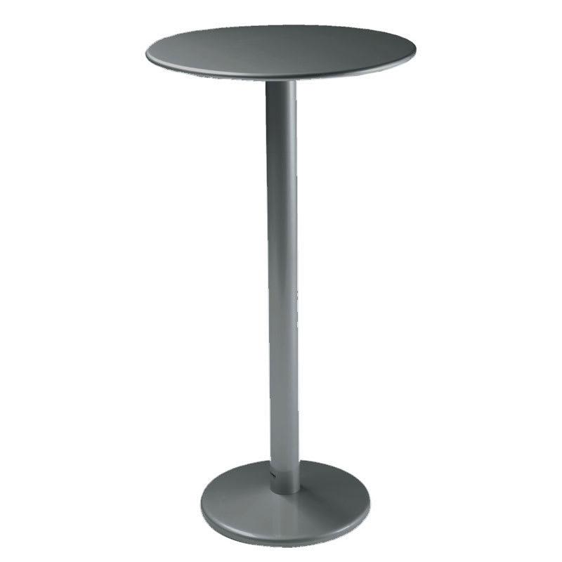 "emu 902H AIRON Bistro Bar Table, 32""Diameter, Solid Pedestal, Iron"