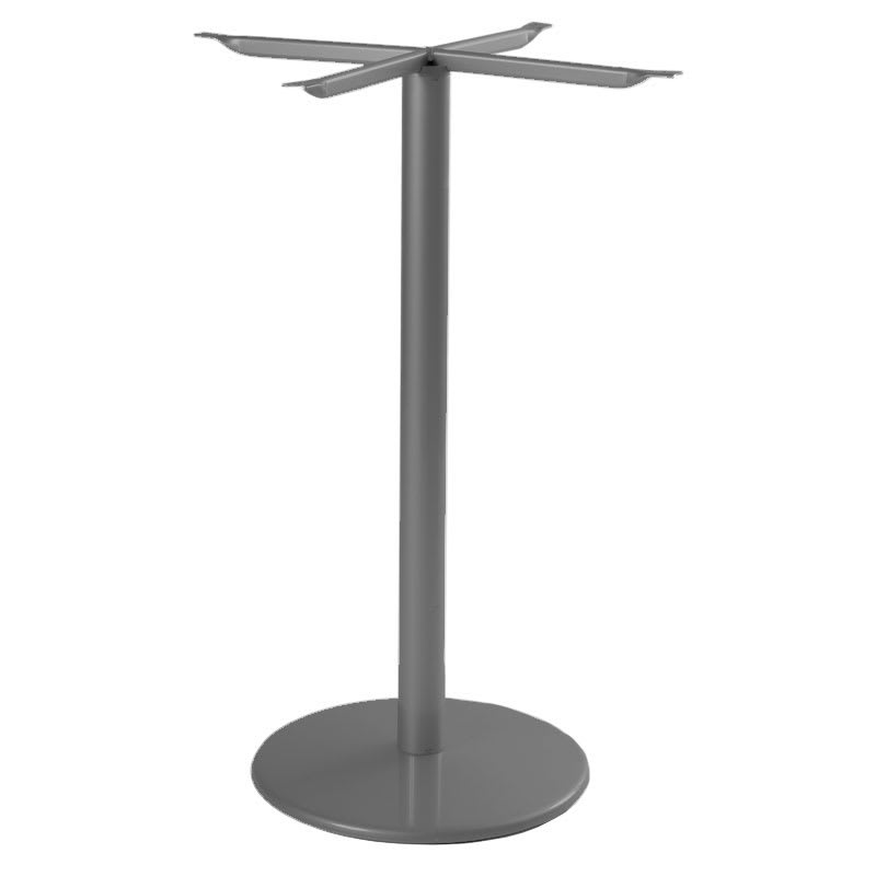 """emu 902HBS AIRON Bistro Base, Tops Up To 32 D & 28"""" Square, Bar H, Iron"""
