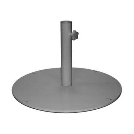 "emu 923 24"" Round Shade Umbrella Base - 55 lb, Steel, Antique Iron"
