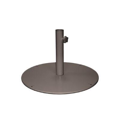 "emu 923 24"" Round Shade Umbrella Base - 55 lb, Steel, Bronze"