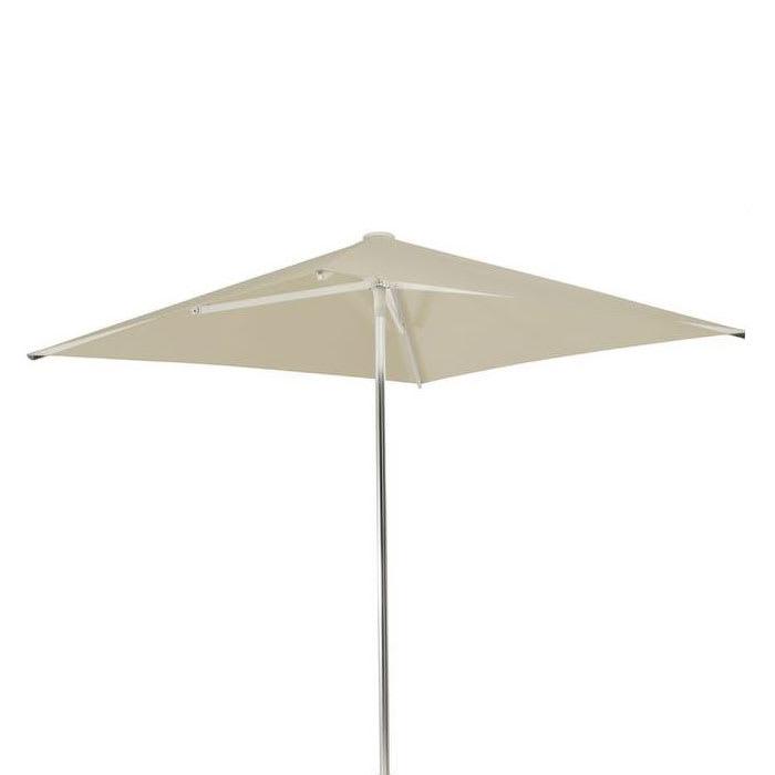emu 980 6.5-ft Square-Top Umbrella - Aluminum, Black