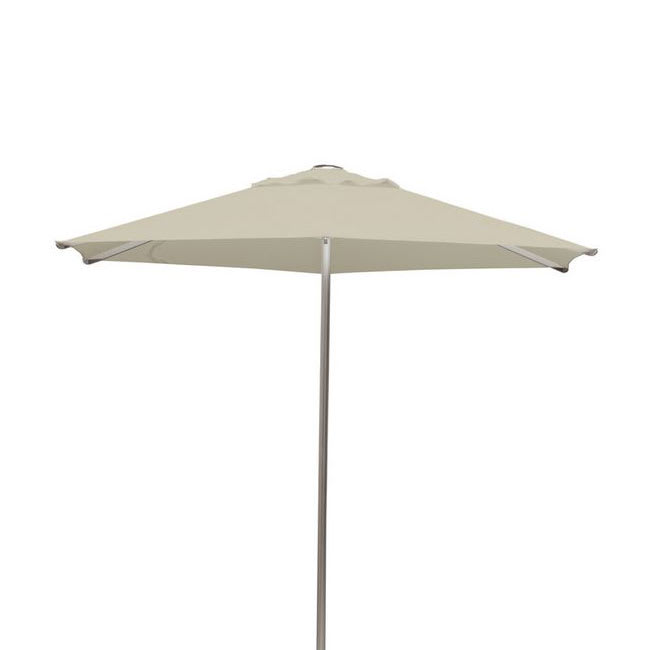 emu 986 8.5-ft Square-Top Umbrella - Aluminum, Black