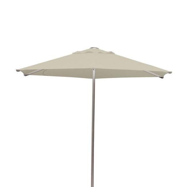 emu 986 8.5 ft Square-Top Umbrella - Aluminum, Black