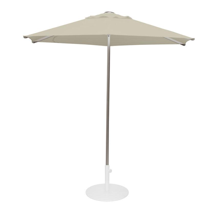 emu 986 8 1/2' Hexagon-Top Shade Umbrella - Aluminum, Khaki