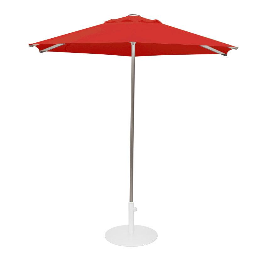 emu 986 8 1/2' Hexagon-Top Shade Umbrella - Aluminum, Circus Red