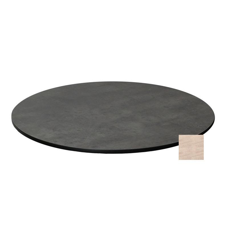"emu GA0024 24"" ALF Round Table Top - Indoor/Outdoor, Melamine Resin, Vintage Oak"