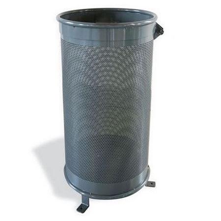 emu U620 29-gal Aro Litter Bin - Steel, Iron Gray
