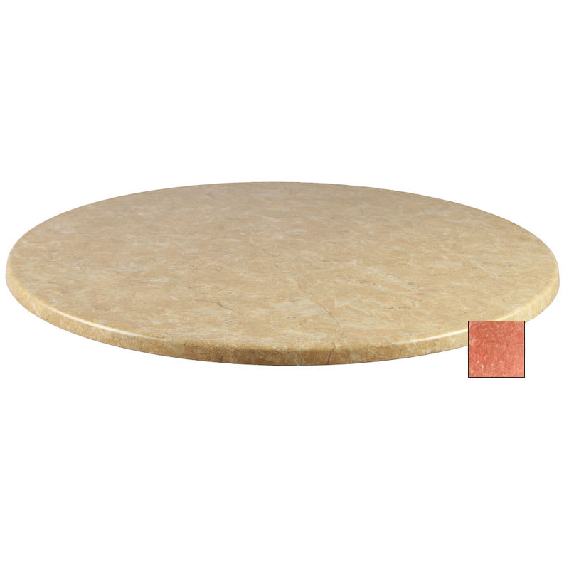 "emu W0024 101 Joe Table Top, 24"" Diameter, Arizona Laminate"