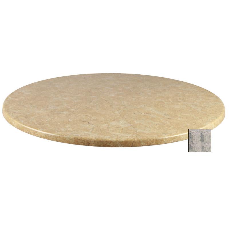 "emu W0028 28"" Joe Round Table Top - Indoor/Outdoor, Molded Laminate, Nevada"