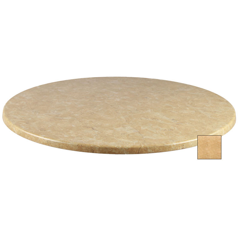"emu W0036 36"" Joe Round Table Top - Indoor/Outdoor, Molded Laminate, Colorado"