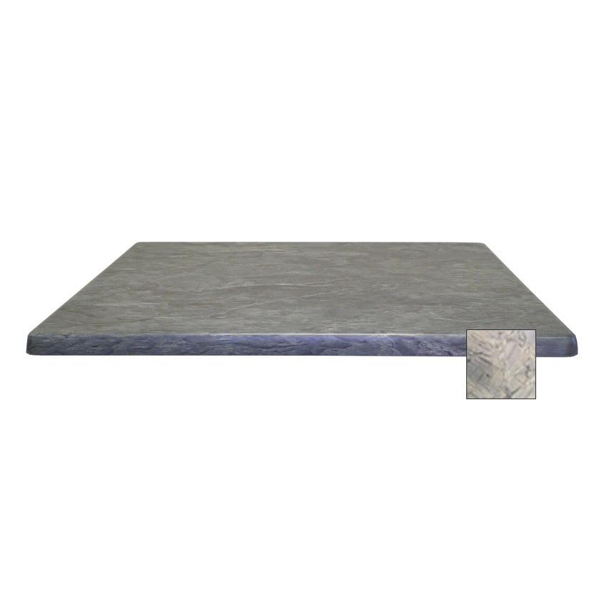 "emu W3636 36"" Joe Square Table Top - Indoor/Outdoor, Molded Laminate, Nevada"