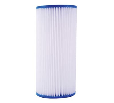 "Dormont HSR-BS-SED-1MP 10"" Big Blue Pleated Sediment Filter w/ 1-Micron"