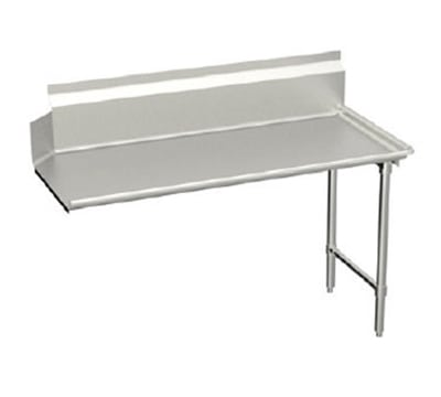"Elkay CDT-96-RX L-R Straight Clean Dishtable w/ 10"" Splash, 30x96"""