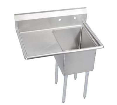 "Elkay E1C24X24-L-24X 50.5"" 1-Compartment Sink w/ 24""L x 24""W Bowl, 12"" Deep"