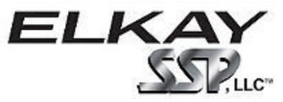 "Elkay LKB940C Service Sink Faucet w/ 8"" Center Bucket Hook, Chrome Finish"