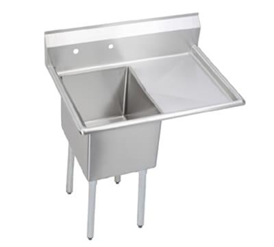 "Elkay S1C18X18-R-18X 38.5"" 1-Compartment Sink w/ 18""L x 18""W Bowl, 14"" Deep"