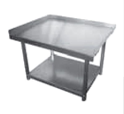 Elkay SES30S60-STGX Equipment Stand w/ Adjustable Galvanized Undershelf, 30x60x24""