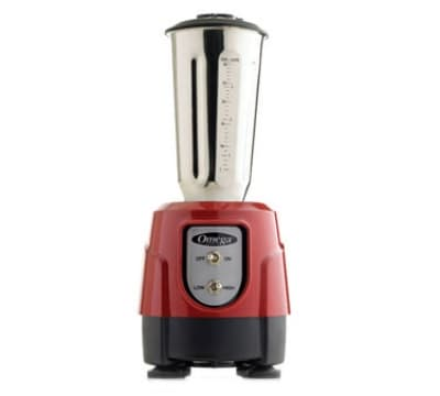 Omega BL360R Countertop Food Blender w/ Metal Container