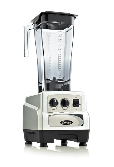Omega BL490S Countertop Food Blender w/ Polycarbonate Container