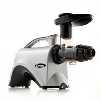 Omega Nc800hd Commercial Juicer 6th Gen Masticating Silver