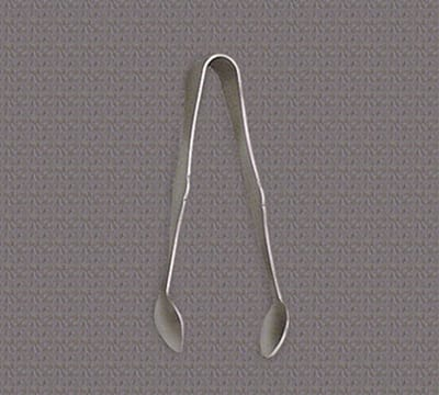 "World Tableware 004 076 4.5""L Silverplated Sugar Tongs"