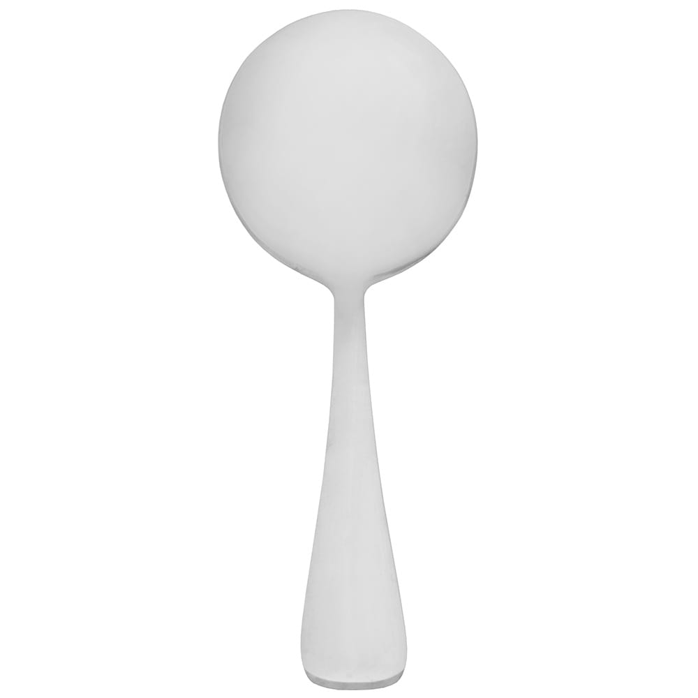 World Tableware 143 016 Bouillon Spoon w/ Bright Mirror Finish, 18/0 Stainless, Windsor Grandeur