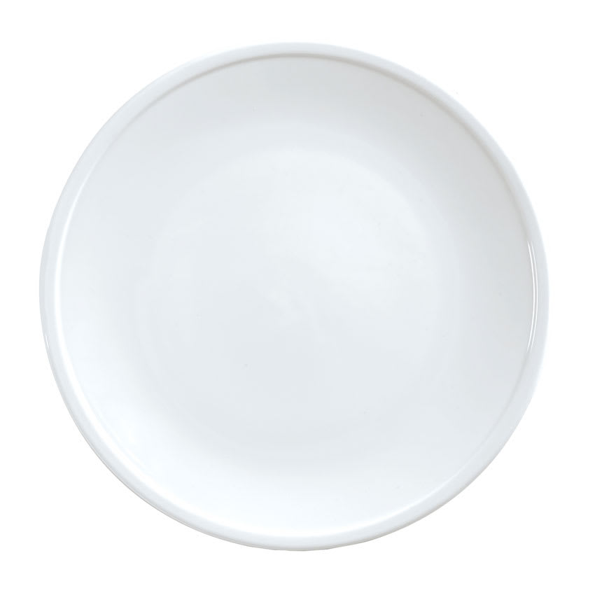 "World Tableware 1702-10304 10.75"" Round Coupe Plate, Bright White"