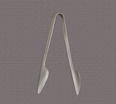 "World Tableware 2225-000 7-9/16"" Windsor Serving Tongs - Silverplated"