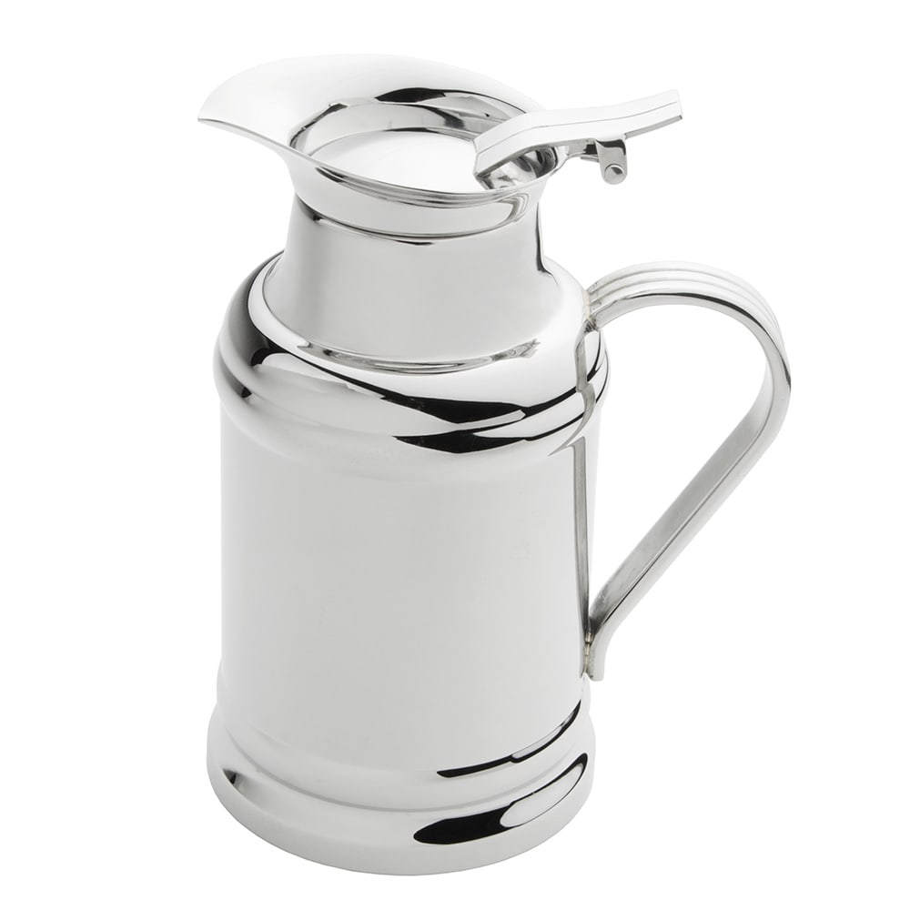 World Tableware 73457 17 oz Hot/Cold Milk Pot - Double-Wall, 18/8 Stainless