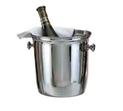"World Tableware 774204 8"" Wine Cooler - (773702) 18/8 Stainless"