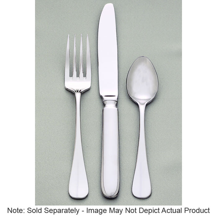 World Tableware 813 002 Silverplated Dessert Spoon, Baguette World Collection
